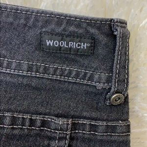 Woolrich Skirts - Woolrich Washed Out Black Raw Hem Denim Skirt 6